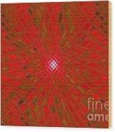 Glass Fantasia Catus 1 No 9 H Wood Print