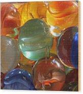 Glass In Glass 3 Wood Print