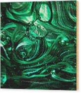 Glass Macro Abstract Egw2 Wood Print