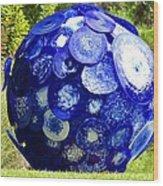 Glass Planet Wood Print