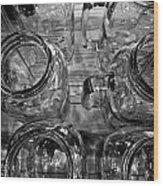 Glasswares Wood Print