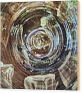 Glazed Clay Photograph Wood Print by Martha Nelson