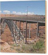 Glen Canyon Bridge Wood Print