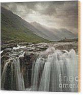 Glen Coe Wood Print