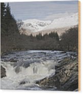 Glen Orchy Scotland Wood Print