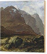 Glencoe, 1864 Wood Print