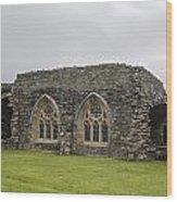Glenluce Abbey - 1 Wood Print