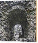 Glenluce Abbey - 3 Wood Print