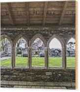 Glenluce Abbey - 4 Wood Print
