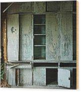 Glenn Dale Cabinets Wood Print
