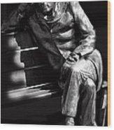Glenn Gould Wood Print