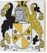 Glennon Coat Of Arms Irish Wood Print