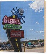 Glenns Bakery Wood Print
