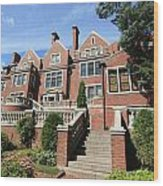 Glensheen Mansion Exterior Wood Print