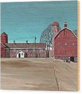 Glidden Farm Wood Print