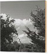 Glimpses Of Heaven Wood Print