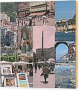Glimpses Of Italy Wood Print