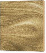 Glittering Gold Paint Wood Print
