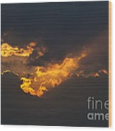 Gloaming Wood Print by Michal Boubin