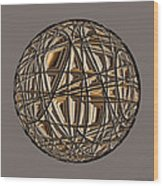 Global Routing Wood Print