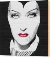 Gloria Swanson Malefica Wood Print