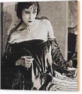 Gloria Swanson Wood Print by Studio Release