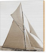 Gloriana, Corinthian Sweepstakes, Corinthian Yacht Club Wood Print