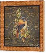 Glorious Birds-a2 Wood Print
