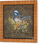 Glorious Birds-b2 Wood Print