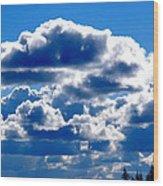 Glorious Clouds II Wood Print