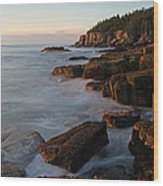 Glorious Maine Acadia National Park Wood Print