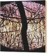 Glorious Silhouettes 3 Wood Print