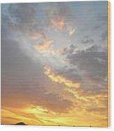 Glorious Skylight Wood Print