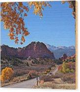 Glory Road Wood Print