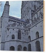 Gloucester Cathedral 2 Wood Print