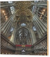 Gloucester Cathedral 2.0 Wood Print