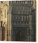 Gloucester Cathedral Entrance Wood Print