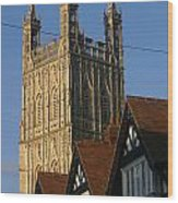 Gloucester Cathedral Spire Wood Print