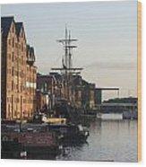 Gloucester Docks 1 Wood Print
