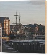 Gloucester Docks 3 Wood Print