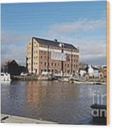 Gloucester Historic Docks 3 Wood Print