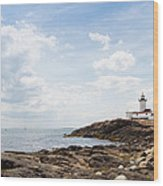 Gloucester Lighthouse Wood Print