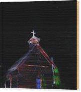 Glowing Church I Wood Print