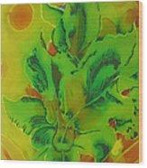 Glowing Kanas Wood Print