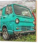 Gmc Van Wood Print