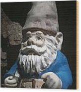 Gnome Wood Print