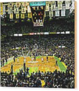 Go Celtics Wood Print