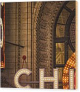 Go Chi Wood Print