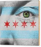 Go Chicago Wood Print by Semmick Photo