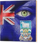Go Falkland Islands Wood Print